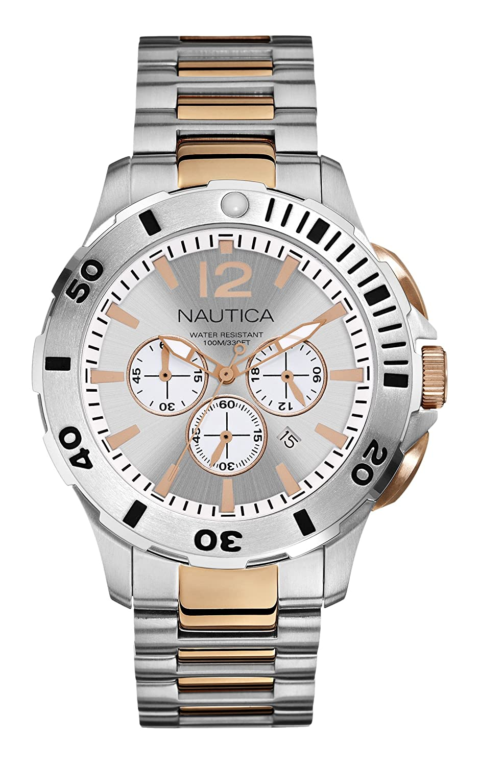 Nautica Men s N27525G BFD 101 Dive Style Chrono Watch