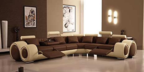 4087 - Bonded Leather Sectional Sofa with Recliners & Amazon.com: 4087 - Bonded Leather Sectional Sofa with Recliners ... islam-shia.org