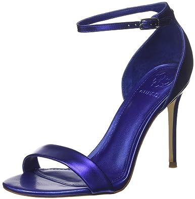 Guess Footwear Dress Sandal, Chaussures à Brides Femme - - Argent, 41 EU EU