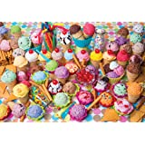 Variety of Colorful Ice Cream, A 1500 Piece Jigsaw Puzzle by Lafayette Puzzle Factory