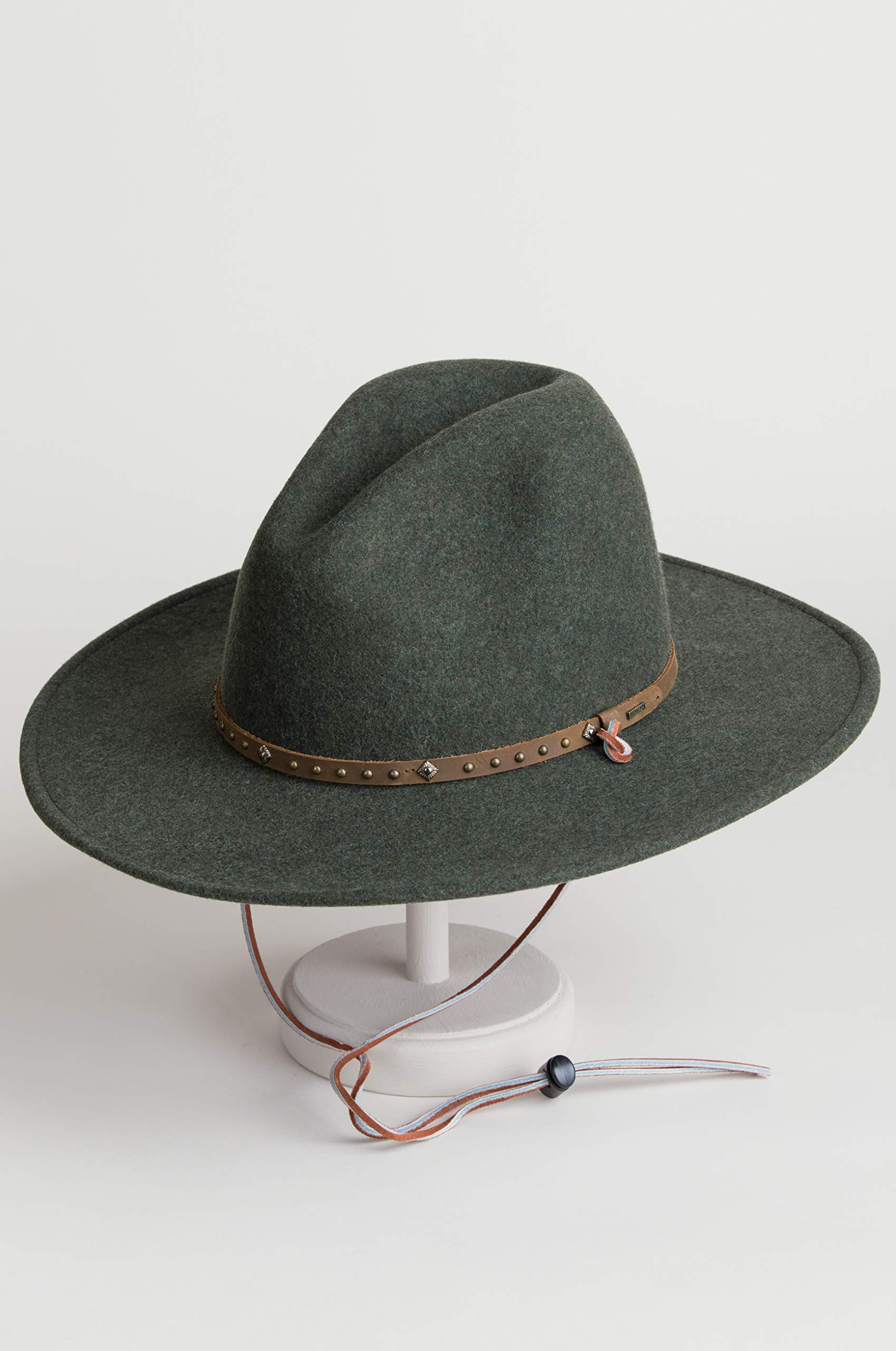 Men's Lonesome Trail Crushable Wool Stetson Hat, OLIVE MIX, Size SMALL by Stetson (Image #3)