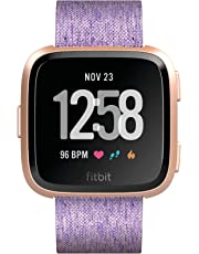 Fitbit Versa Health & Fitness Smartwatch with Heart Rate, 4+ Day Battery & Water Resistance