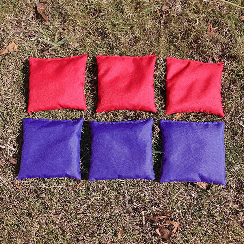 Richolyn 10 ST/ÜCKE Sands/äcke Werfen Spiel Bohnen S/äcke Bean Bag Set Bohnens/äckchen Kinder Wurfs/äckchen Spiel Kinder Werfen Spiel Sitzs/äcke F/ür Kinder