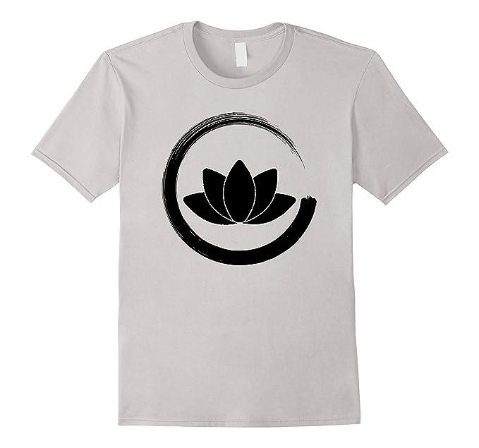 Amazon Zen Lotus Symbol Shirt Buddhist Enso Circle Clothing