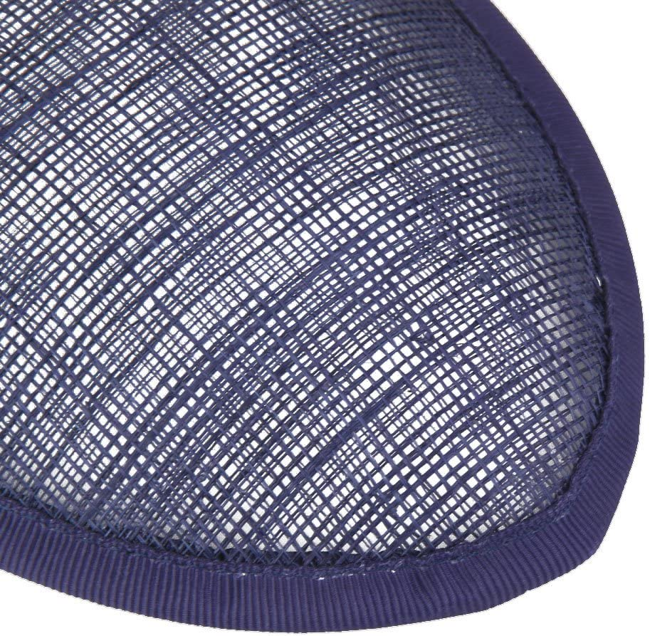 "Sinamay Teardrop Fascinator Hat Base for Millinery 5 1//2/"" x 4/"" Gold"