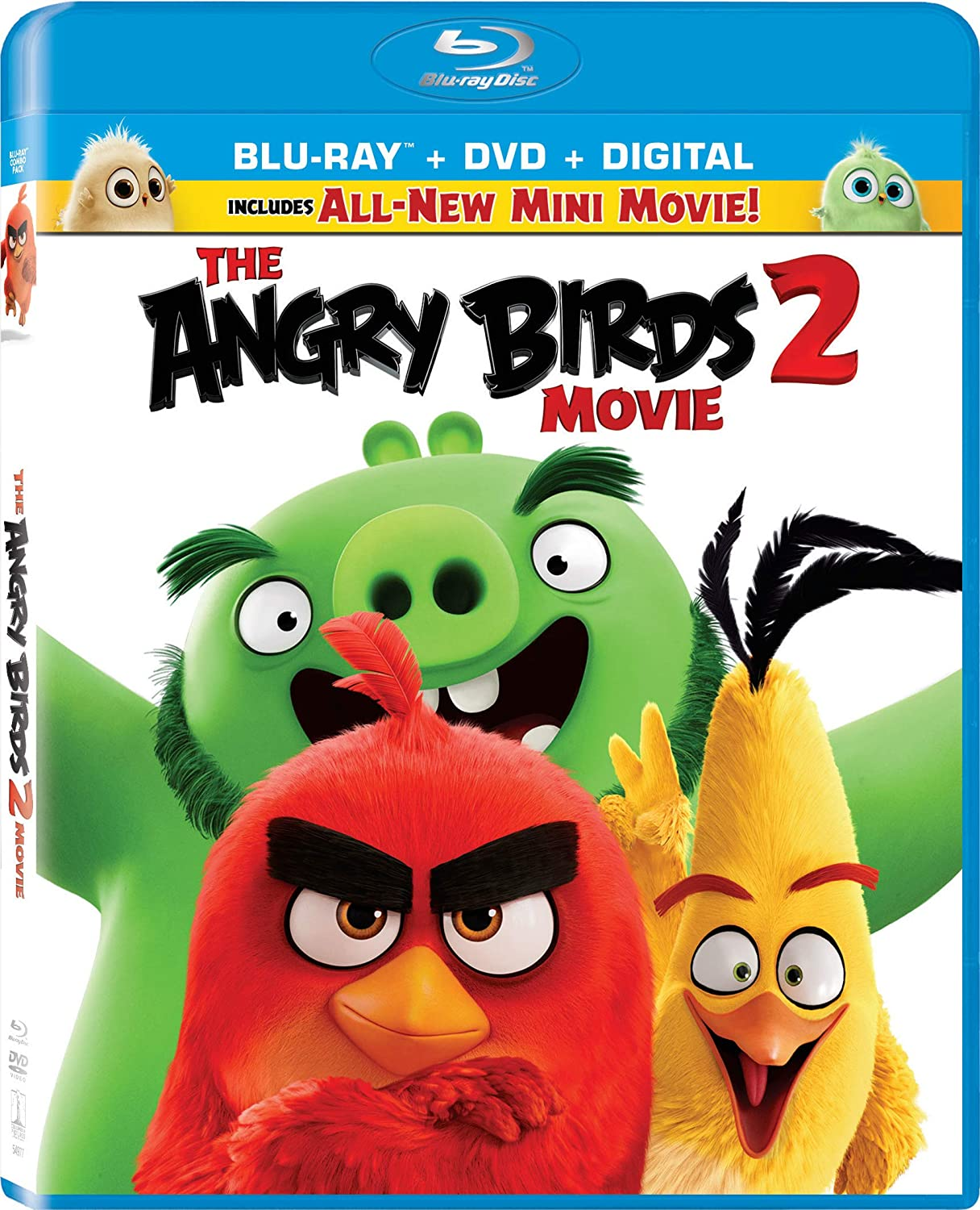 Amazon Com The Angry Birds Movie 2 Blu Ray Thurop Van Orman John Cohen Rovio Entertainment Sony Pictures Animation Movies Tv