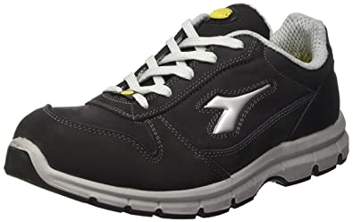 Diadora - Run Esd Low S3, zapatos de trabajo Unisex adulto, Negro (Nero