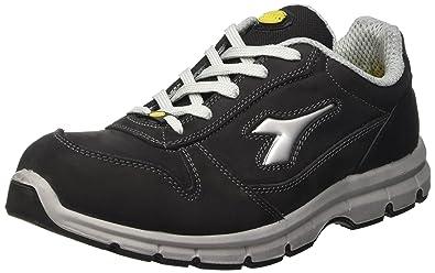 Diadora - Run Esd Low S3, zapatos de trabajo Unisex adulto, Negro (Nero