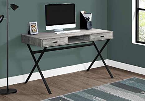 Amazon.com: Monarch Specialties I I 7448 DESK-48 L ...