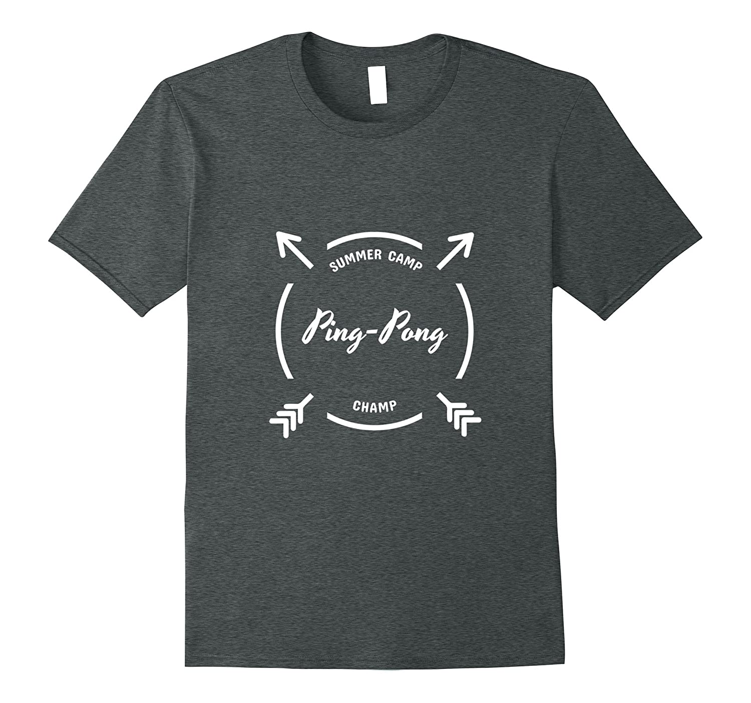 Summer Camp Ping Pong Champ T-shirt for Sleepaway Camp