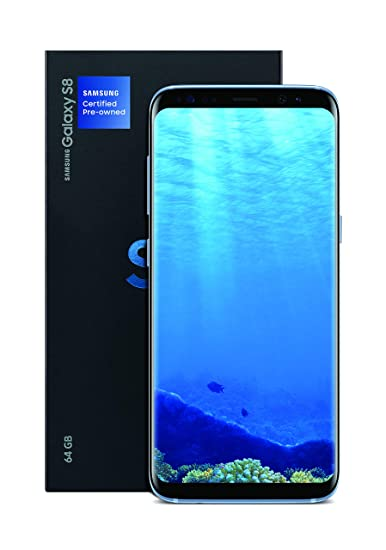 Pre Owned Factory >> Amazon Com Samsung Galaxy S8 Certified Pre Owned Factory