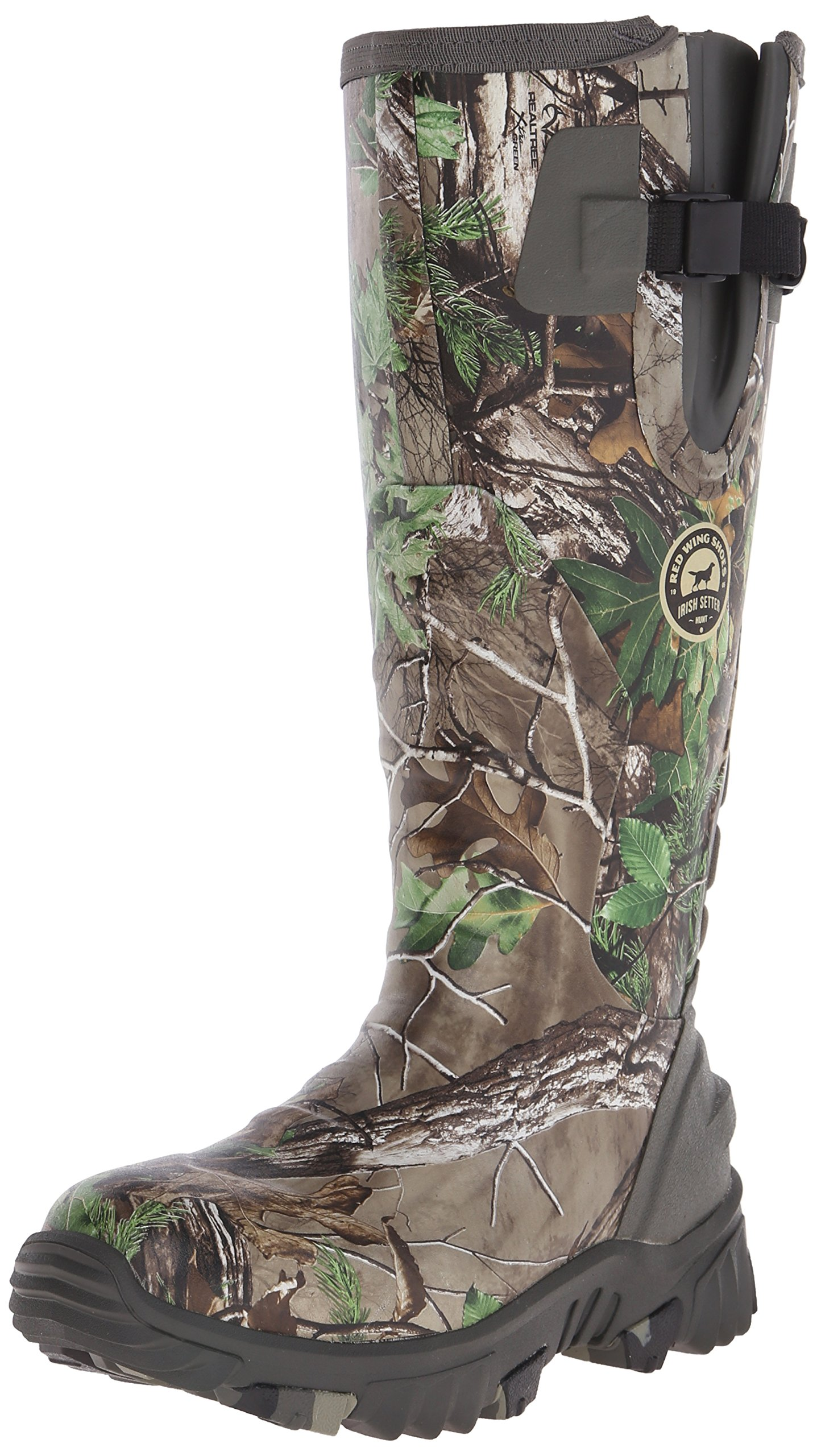 Irish Setter Women's 4885 Rutmaster 2.0 15'' Uninsulated Rubber Hunting Boot, Real Tree Camo, 8 E US
