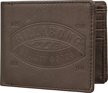 Monedero Billabong ~ Chocolate de Uni n: Amazon.es: Equipaje