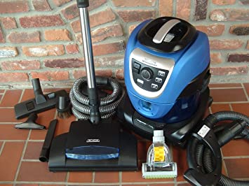 THE AMAZING PRO AQUA WATER FILTRATION CANISTER VACUUM CLEANER WITH FULL ACCESSORY KIT