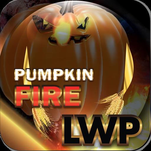 Pumpkin Fire LWP HD+ Halloween Live Wallpaper