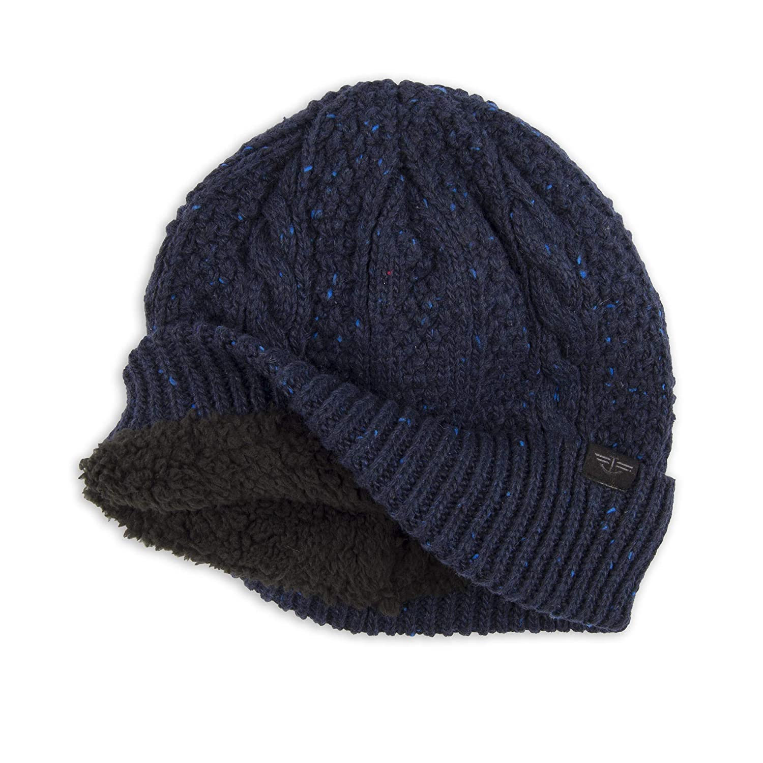 5f7ecf235f022 Dockers Men s Cable Knit Beanie Hat