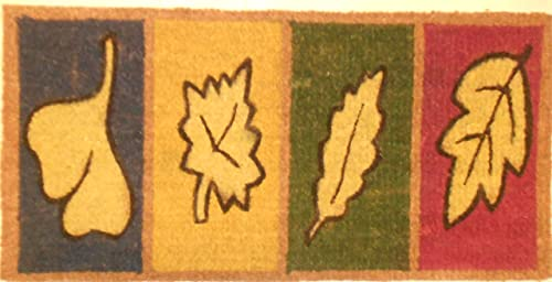 Door Mats – Length 31 x Width 17.5 x Thickness 1 ,Four Leaves
