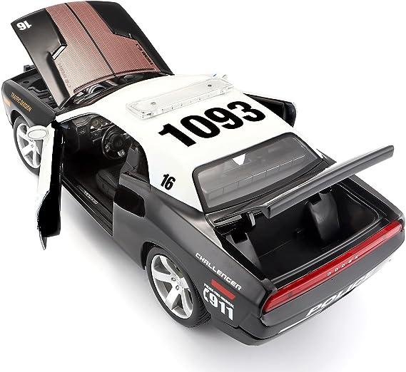 Maisto 1 18 Scale Dodge Challenger Concept 06 Police Model Car Spielzeug