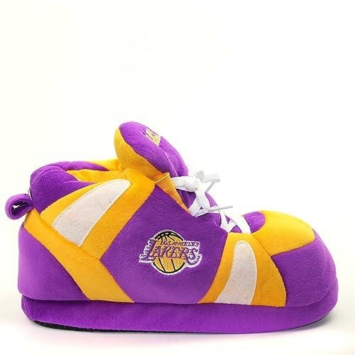 Sleeper'z Zapatillas de casa Brooklyn Nets NBA Basketball - Licencias Officiales - Hombre y Mujer – L 8pGxUAVl