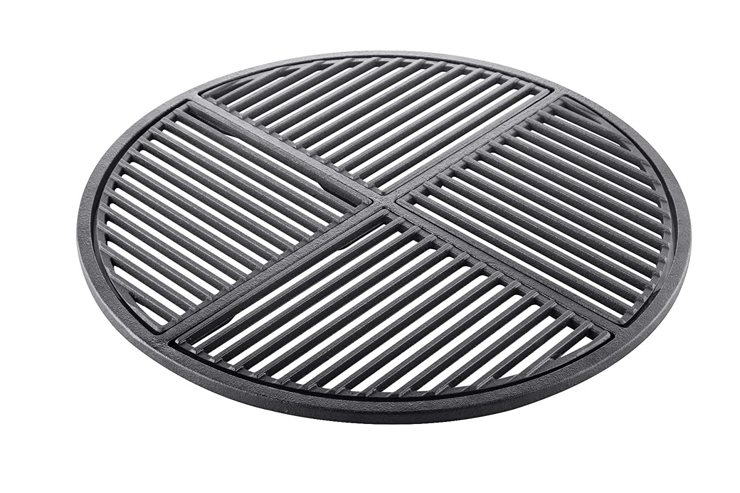 """Cast Iron Grate, Pre Seasoned, Non Stick Cooking Surface, ModularFits 22.5"""" Grills"""