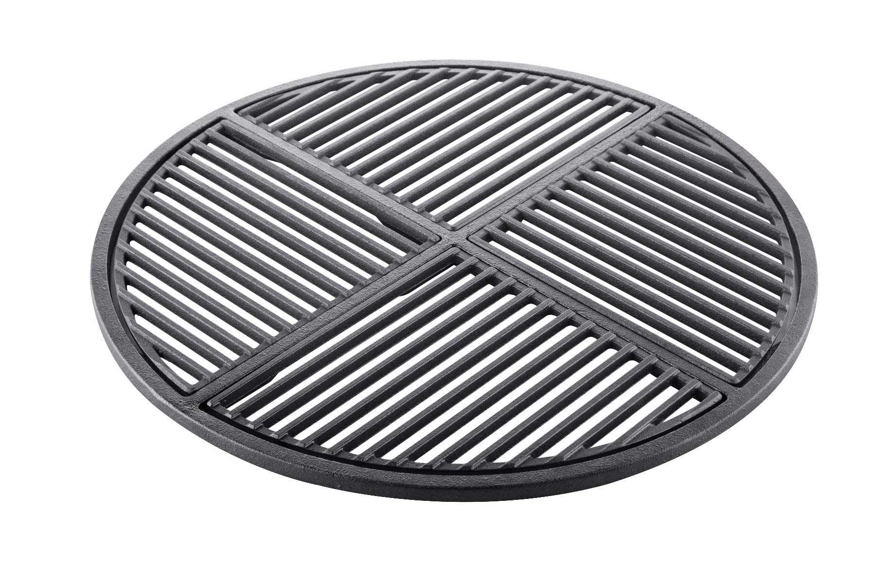 Cast Iron Grate, Pre Seasoned, Non Stick Cooking Surface, Modular  Fits 22.5'' Grills
