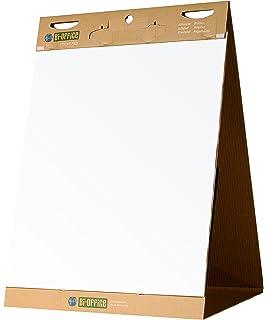 5 Pack Legamaster Plain Flipchart Gridded