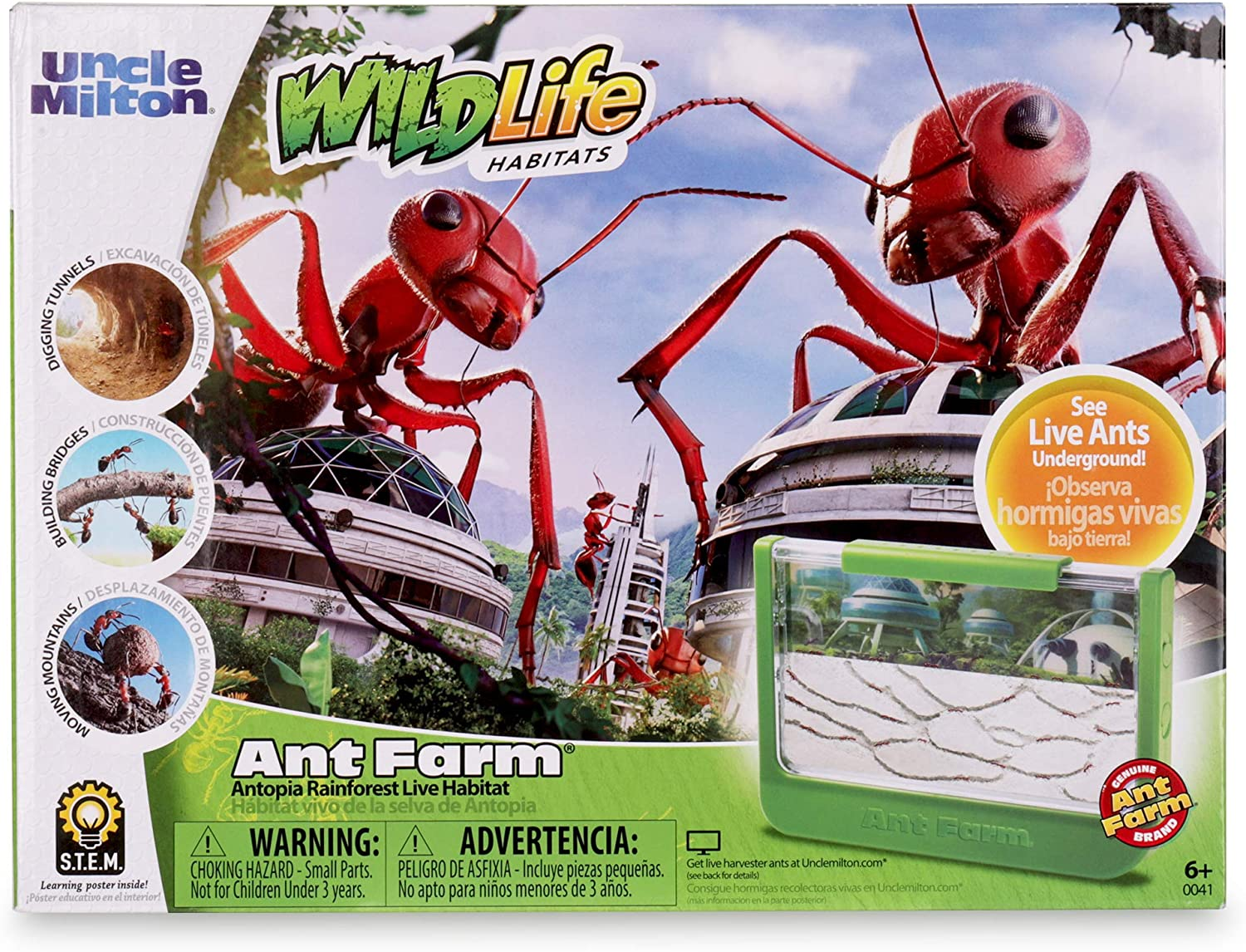 25g Ant Farm Food Freeze-dried Mealworm Ant Nest Anthill Nutritious Protein