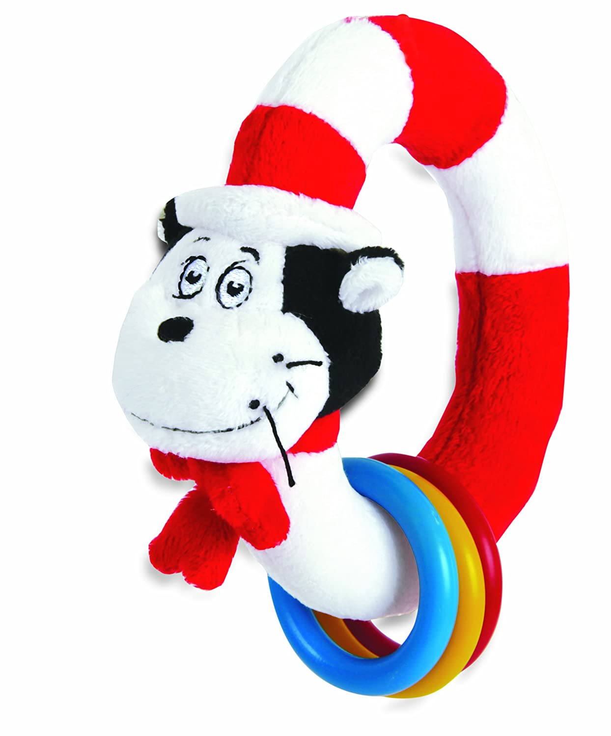 Amazon.com: Manhattan Toy Dr. Seuss Cat in The Hat Take and Shake ...