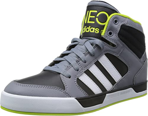 Baskets adidas NEO BBNeo Raleigh Mid Top pour homme en gris