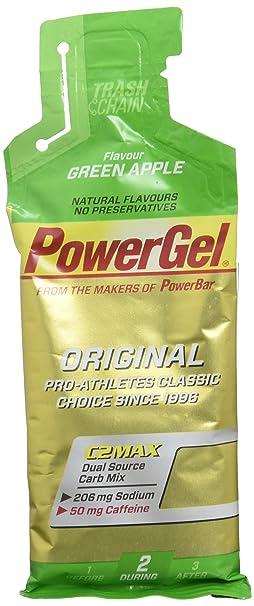 POWERBAR Lot de 24 gels énergétiques - Pomme verte - 41 g: Amazon ...
