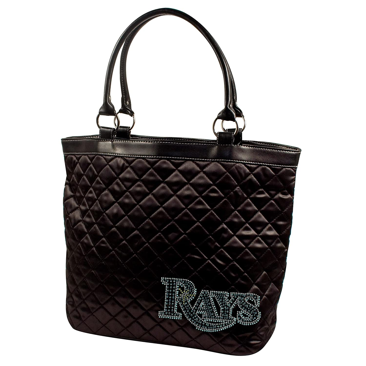 MLBスポーツNoir Quilted Tote Purse B00CPLHMNA Tampa Bay Rays