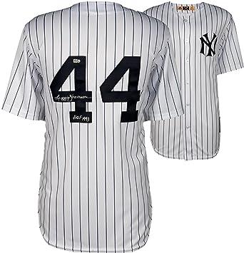 Reggie Jackson New York Yankees Autographed Majestic Replica Jersey with  HOF 1993 Inscription - Fanatics Authentic 32963fe6e96