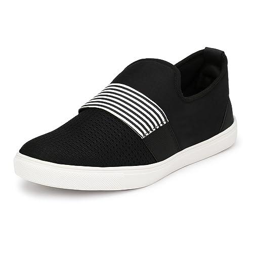 SHOE DAY Men's UCB Black Canvas Sneaker