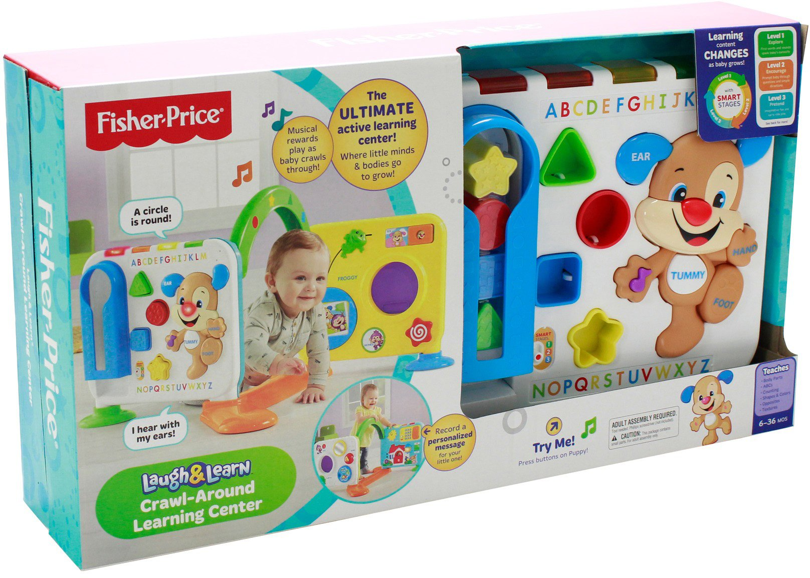 Fisher-Price Laugh & Learn Crawl-Around Learning Center by Fisher-Price (Image #33)