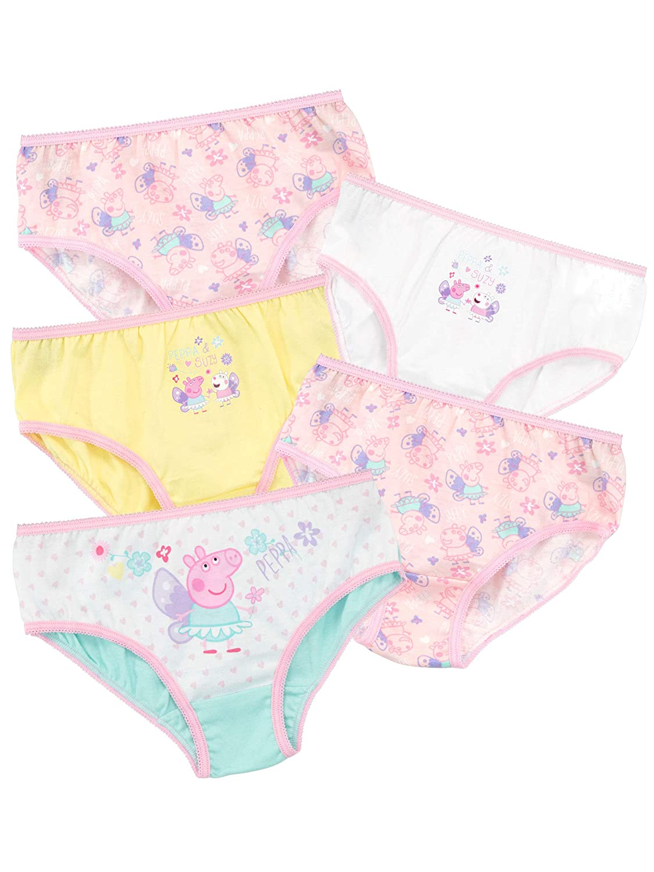 Peppa Pig Girls Underwear Pack of 5