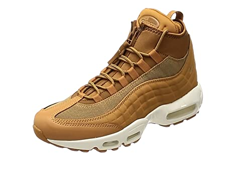 7aa31242322223 ... usa nike mens shoes air max 95 sneakerboot in beige leather 806809 201  f07cc 14d0c