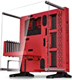 Thermaltake Core P3 SE Red Edition ATX Open Frame Panoramic Viewing Tt LCS Certified Gaming Computer Case CA-1G4-00M3WN-01