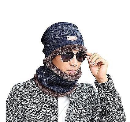 975e06810f817 2 PCS Set Winter Mütze Hut Schal Set Outdoor Strickmütze Super Weiche Super  Warme Beanie