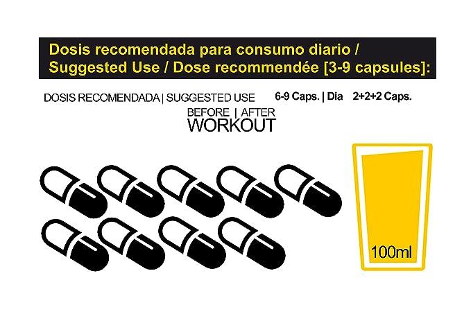 Aminergy 240 capsulas - Aminoácidos Bipéptidos de Plasma Sanguíneo en Cápsulas: Amazon.es: Salud y cuidado personal