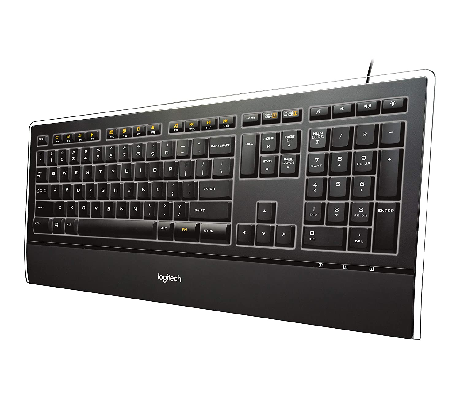 Amazon.in: Buy Logitech Illuminated Ultrathin Keyboard with Backlighting  Online at Low Prices in India | Logitech Reviews & Ratings