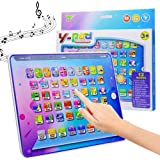HAPTIME Electronic Learning Pad with 5 Learning Modes, Fun Tablet Learning ABCs, Numbers, Spelling for Kids Toddlers Boys Gir