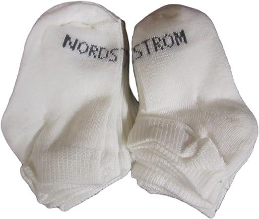 Nordstrom Quarter Length Socks with Wash Bag Pack of 10 Socks Sz 4.5-8.5 2608