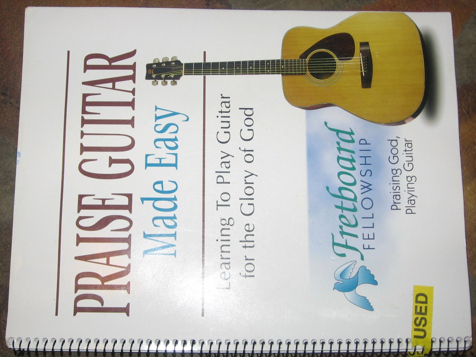 Amazon Praise Guitar Made Easy Learning To Play Guitar For The