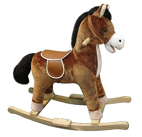 Cavaluccio A Dondolo.Ods 17003 Cavallo A Dondolo Con Suoni