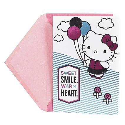 Amazon hallmark birthday greeting card for kids hello kitty hallmark birthday greeting card for kids hello kitty m4hsunfo