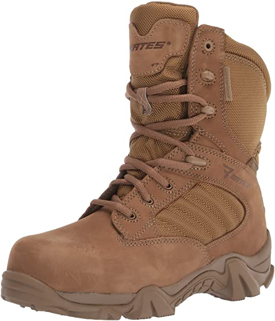 Details about  /Bates 2276 Mens GX-8 CompositeToe Side Zip Boot FAST FREE USA SHIPPING