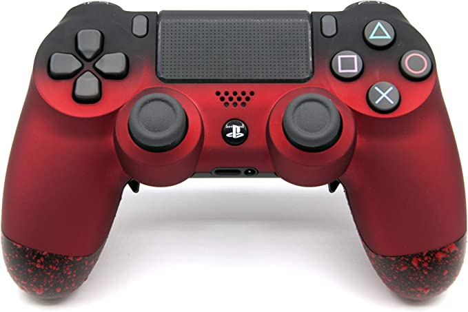 Red PlayStation 4 Pro Controller with Remapping Paddles – PS4 Pro Slim DualShock 4 PlayStation 4 Wireless Controller: Amazon.es: Videojuegos