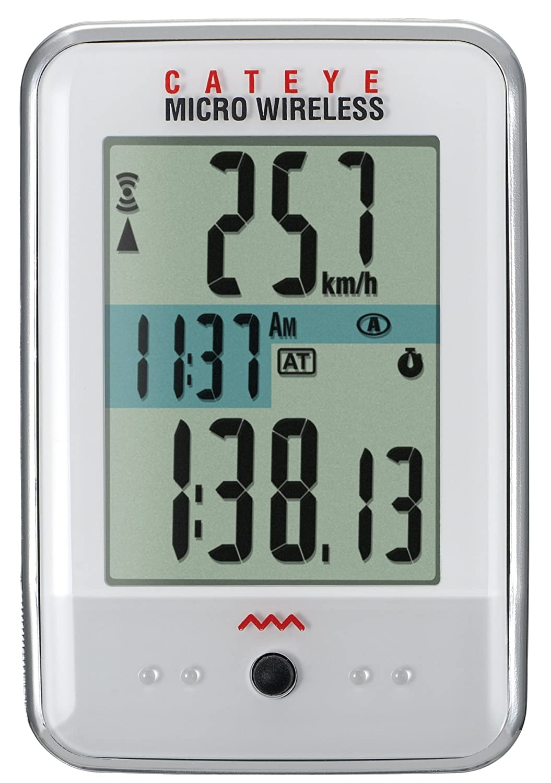 Cateye Cc Mc200w Micro Wireless Bike Computer Amazon Sports