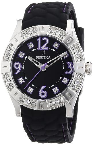 ed3317d17a59 Festina F16541 8 - Reloj analógico de Cuarzo para Mujer con Correa de Caucho