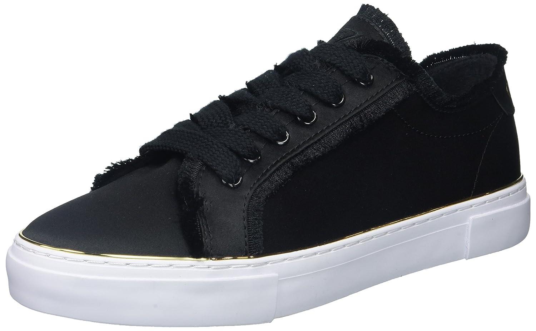 GUESS Women's Goodfun Sneaker B0743MZ8T8 8 B(M) US|Black